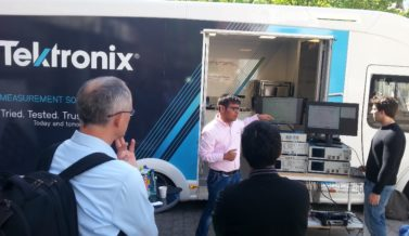 ICONE presents to Tektronix European Tour